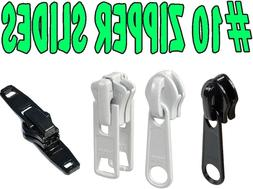 #10 Chain Zipper Sliders Single and Double pull Upholstery-Q