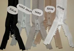 YKK #10 Marine Boat Top Zippers, Outdoor Canvas Many Sizes &