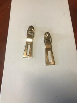 2x Replacement Zipper Pull Tab Zip Fixer for Clothes Bags DI