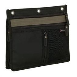 """3 Ring Binder Pencil & Accessory Pouch... Expandable 10"""" X 8"""