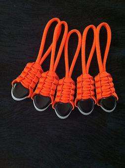Paracord Zipper Pulls - fits-Tactical Rush Back Packs Molle