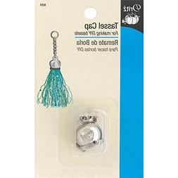 Dritz 825D  Metal Tassel Cap-Nickel