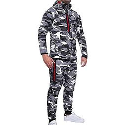 Clearance Sale! 2018 Wintialy Men's Autumn Winter Camouflage
