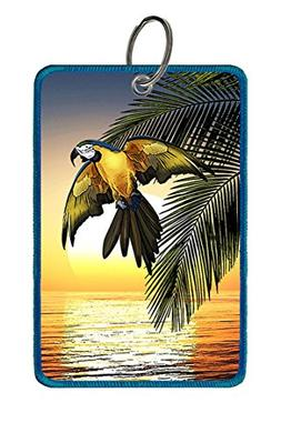 Extra Large Luggage Tag: Tropical Bird