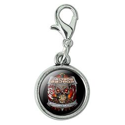 Graphics and More Special Forces Defending Freedom Skull Bul