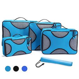 Lonew 5Pcs Packing Cubes, Travel Luggage Packing Organizers