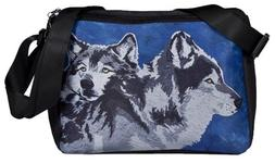 Wolf Messenger Bag  From My Painting, Spirited Pack