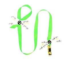 Zip My Dress Premium Zipper Puller with Grass Green Ribbon