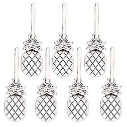 Ascrafter Alloy Pineapple Zipper Pulls Charms for Jacket, Pu