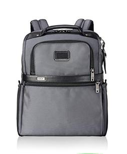 TUMI Alpha Slim Solutions Brief Pack Briefcase, Pewter, One
