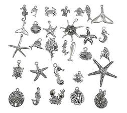 ALIMITOPIA 30pcs Assorted Marine Animals Sea-Fish Ocean Live