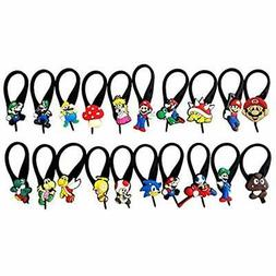 AVIRGO 20 Pcs Soft Zipper Pull Charms For Bag Jacket Set 65-