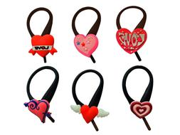 AVIRGO 6 pcs Soft Zipper Pull Charms for Backpack Bag Pendan