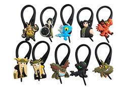 AVIRGO 10 pcs Soft Zipper Pull Charms for Bag Jacket Set # 5
