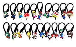 AVIRGO 20 pcs Soft Zipper Pull Charms for Bag Jacket Set # 6
