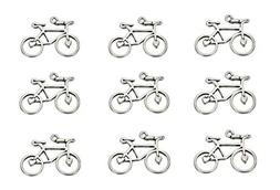 30pcs Bicycle Bike Sports Charm Pendant for DIY Crafting Key