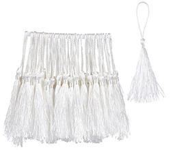 Bookmark Tassels - 150-Pack Silky Floss Tassel Pendant with