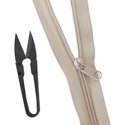 bulk zippers for sewing arts and crafts
