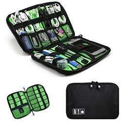 TTM Cable Portable Organizer Case Easy Universal Carry Trave