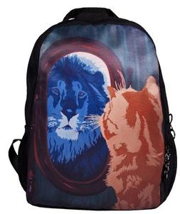 Cat Backpack, Cat Book Bag - From My Original Painting, Salv