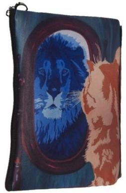 Cat Cosmetic Bag, Cat Pouch - From My Original Painting, Sal