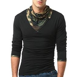 Clearance Sale! Wintialy Men's Autumn Camouflage Long Sleeve