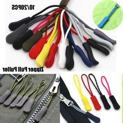 9 colors Ends Lock Zips Cord Rope Pullers Zip Puller Replace