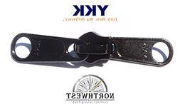#5 YKK CN Double Pull Zipper Slider. These sliders are made