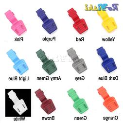 Colorful Zipper Pull Cord End Cord Lock for Paracord Clothin
