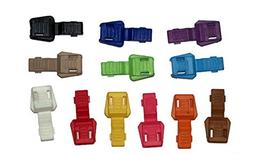 25 Pack of Colorful Zipper Pull Ends - Midwest Cord TM Brand