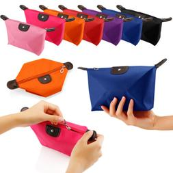 Cosmetic Beauty Makeup Bag Case Organizer Zipper Holder Hand
