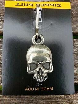 Deluxe Skull Zipper Pull fits Harley-Davidson Motorclothes J