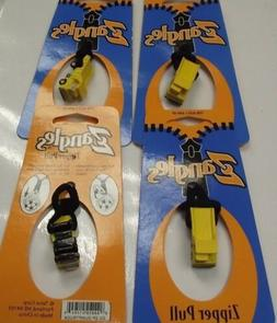 Zangles Dumptruck Zipper Pulls  4pcs Great For Luggage Or Ba