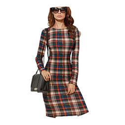 Elegant Bodycon Dress Winter Autumn Dress Fall Multicolor Pl