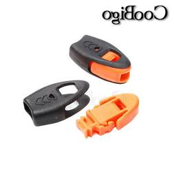 Emergency Survival Whistle Zipper Pulls Cord Ends Outdoor Ki