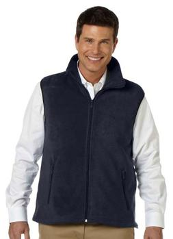 Harriton Men's Fleece Vest - 4X Plus - Navy