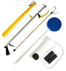 """RMS Hip Knee Replacement Kit 32"""" Featherweight Reacher Aid 5"""