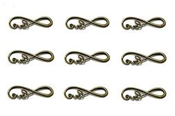 40pcs Infinity Love Symbol Connectors Charms Pendants for DI