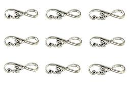 Alimitopia 40pcs Infinity Love Symbol Connectors Charms Pend