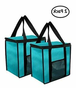 Earthwise Insulated Reusable Grocery Bag Extra Large Collaps