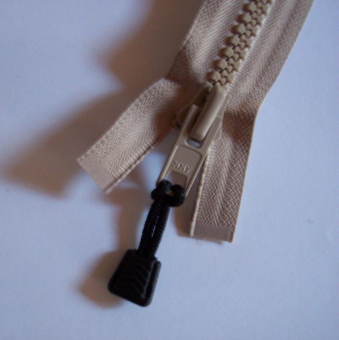 #10 Bimini Canvas Top Marine Zippers BEIGE
