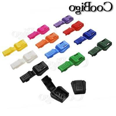 15X Colorful Zipper Pull Cord End Lock for Accessories
