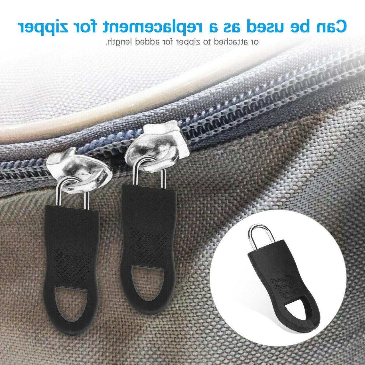 16 Zipper Replacement For Jacket Black