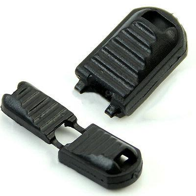 20 Pcs Black Plastic Pull For