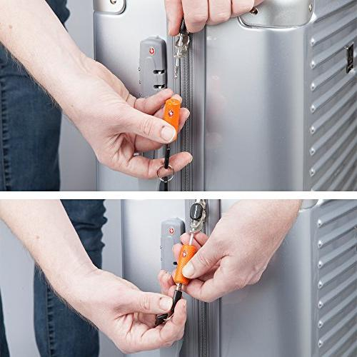 4 Luggage for Travel Flexible Ultra Padlock & Alloy Material