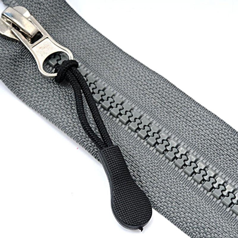 50pcs Zipper Rope Lock Tag Zip Grip Jacket