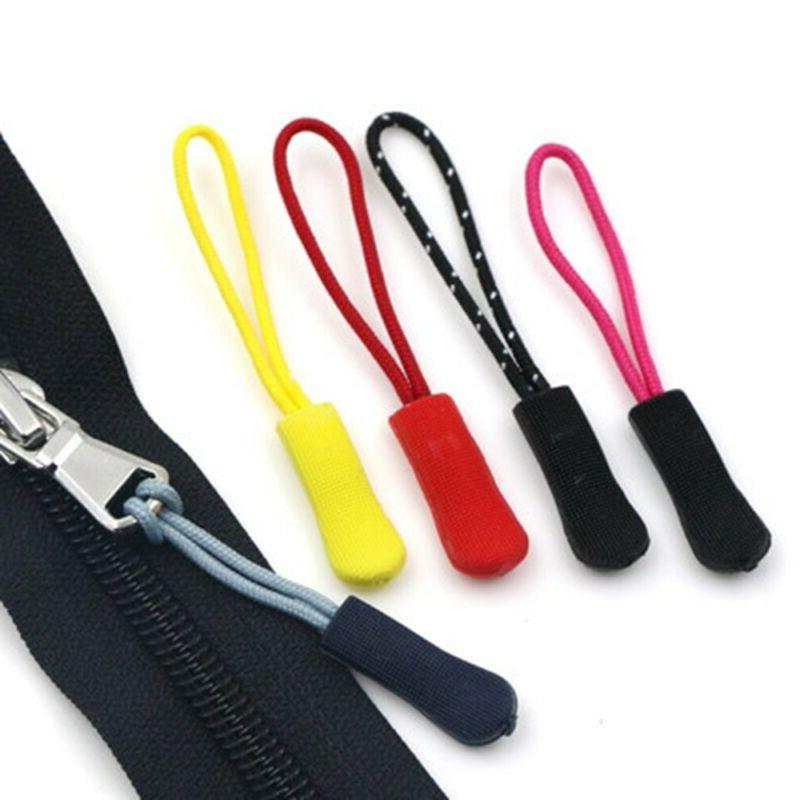 9 Zip Replacement Ends Zipper Pull Rope Pullers