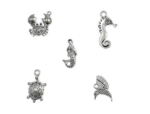 ALIMITOPIA Assorted Animals Creatures for Jewelry Making Accessories