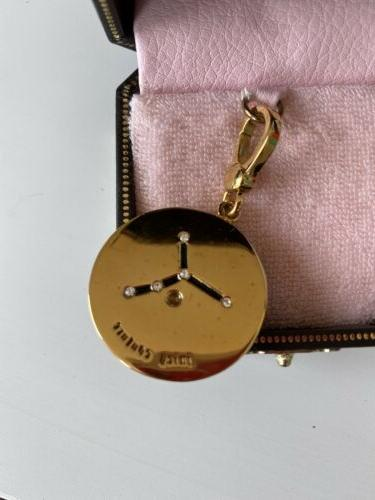 BN JUICY COUTURE Charm, CANCER Boxed