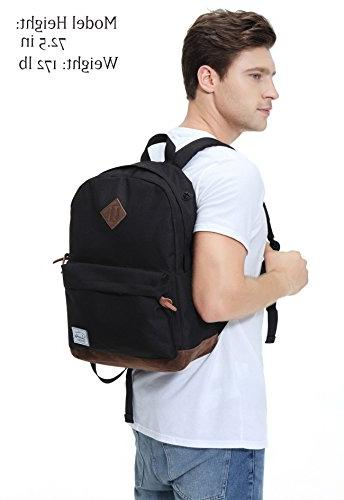 Vaschy Unisex Travel Backpack Fits